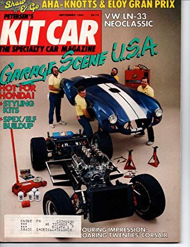 Petersen's Kit Car Magazine, September 1985 (Vol 4, No 5)