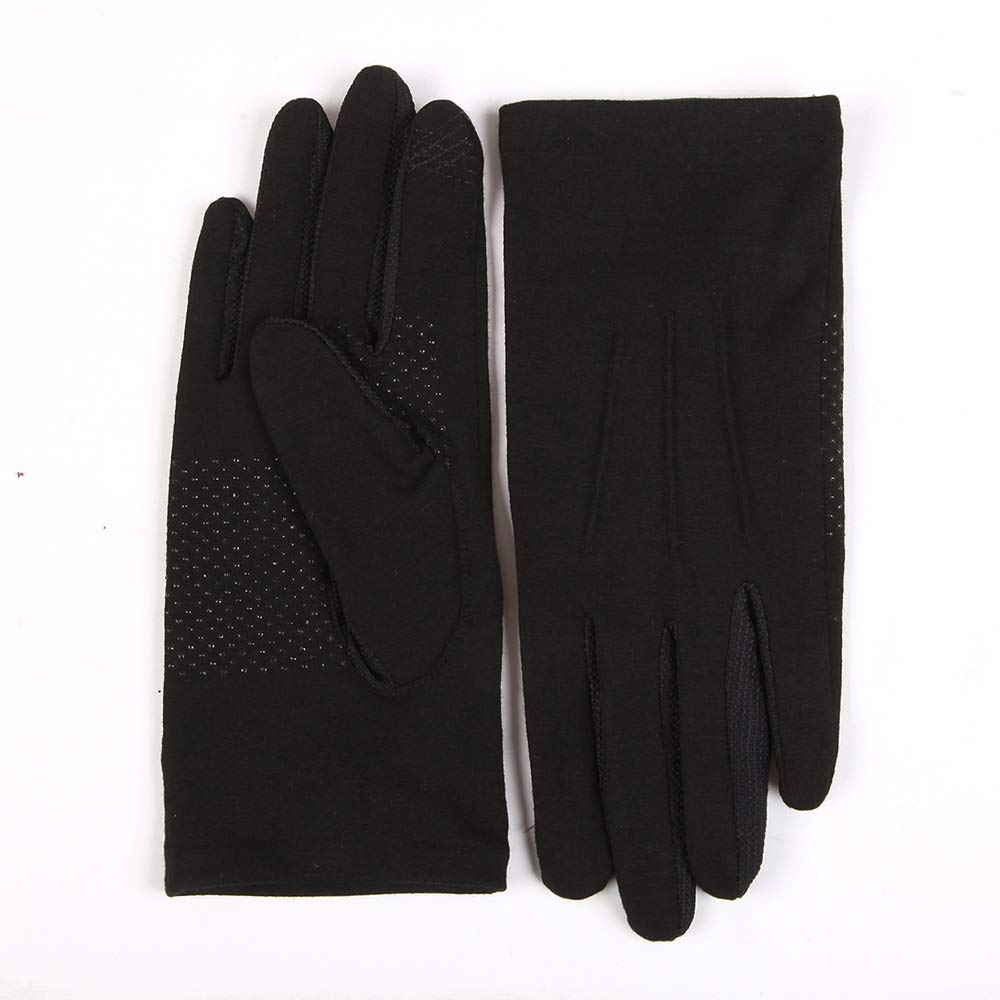 Comfortable Men and Women Sun Protection Sun Protection Gloves UPF50+ Breathable Non-Slip Touch Screen Thin Section Driving Driving Sun Protection Gloves Durable