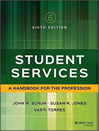 Amazon student services a handbook for the profession student services a handbook for the profession jossey bass higher and adult education 6th edition fandeluxe Gallery