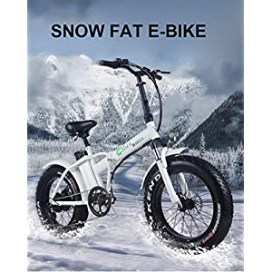 51DqvsFPiOL. SS300 XXCY 20 Pollici Bicicletta elettrica 500 w Motore 48V15ah Snow Fat e-Bike Pieghevole Telaio 48v15ah Batteria al Litio…