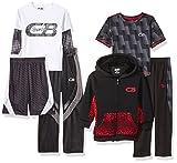 CB Sports Boys' Little 6 Piece Back to School Set, Multi 7