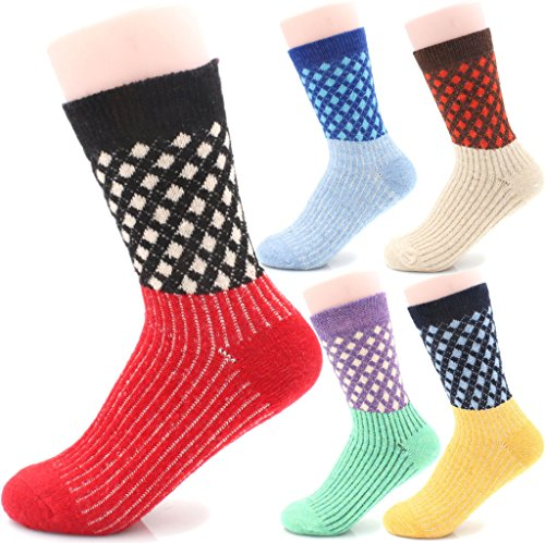 fuzzy thermal socks - 1