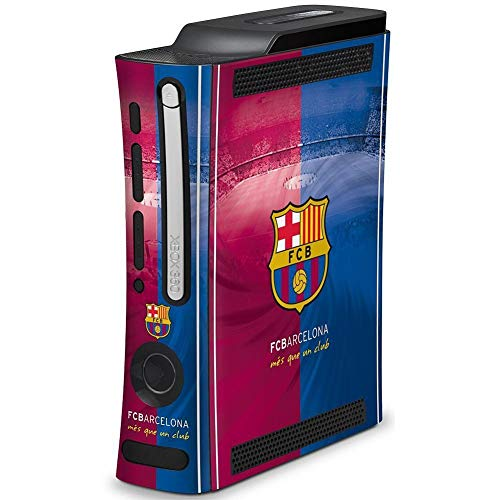 FC Barcelona Official Xbox 360 Console Skin (One Size) (Blue/Burgundy)