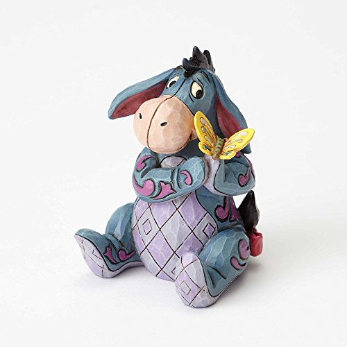 Jim Shore Disney Traditions by Enesco Mini Eeyore Figurine]()