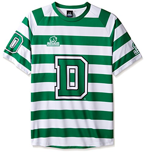 fan products of Rhino Rugby Dartmouth College Big Green - Replica Away Jersey, Large