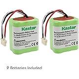 Kastar BRAAVA380 Battery (2 Pack), Ni-MH 7.2V 3000mAh, iRobot Mint 5200 Vacuum Cleaner Replacement Battery for IRobot Braava 380, 380T, Mint5200, 5200B, 5200C Floor Mopping Robots