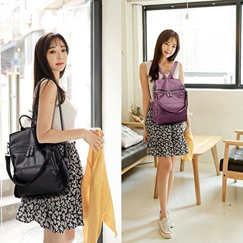 G-AVERIL - Bolso mochila  para mujer azul marino dorado