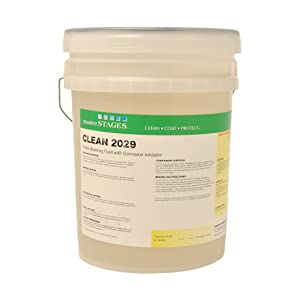 Master STAGES CLEAN2029/5 Clean 2029 Parts Washing Fluid with Corrosion Inhibitor, Yellow, 5 gal Jug