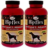 2 PACK Overby Farm Hip Flex Joint Level 3 – Advanced (180 tablets), My Pet Supplies