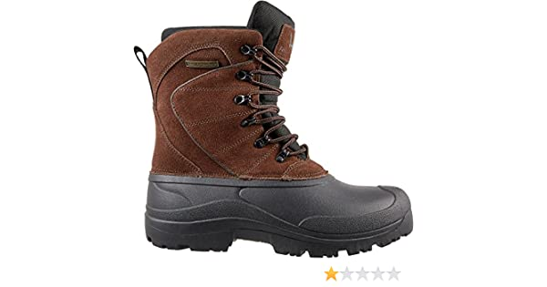 73dc269c8ba Amazon.com: Field & Stream Men's Pac 400g Winter Boots (Brown, 11.0 ...
