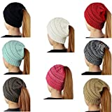 Best Beanie Hats - SEALEN Beanie Tail Women Soft Stretch Trendy Warm Review