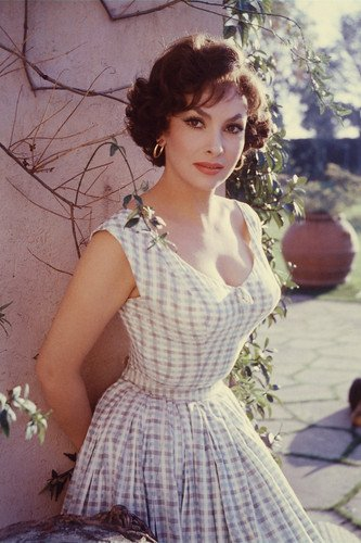 Gina Lollobrigida 24x36 Poster Young Busty Sexy Pose At Amazons Entertainment Collectibles Store