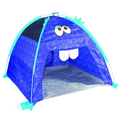Pacific Play Tents 20303 Kids Furry Little Monster Dome Tent Playhouse, Purple, 48