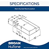 Broan-NuTone BUEZ130BL Non-Ducted Ductless Range