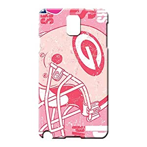 samsung note 3 Ultra Unique Awesome Look mobile phone skins green bay packers nfl football