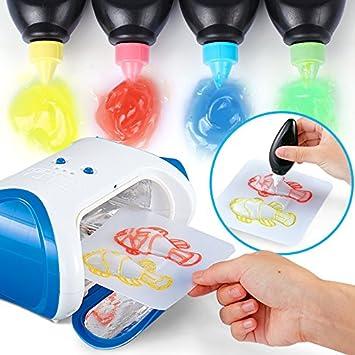 Bearony Juguete de la máquina mágica de DIY 3D, Impresora aclare ...