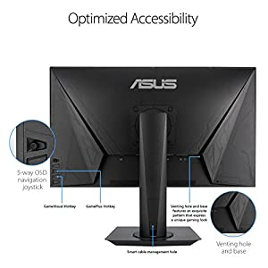 ASUS VG275Q Full HD 1080p 1ms Dual HDMI Eye Care Console Gaming Monitor with FreeSync/Adaptive Sync 27""