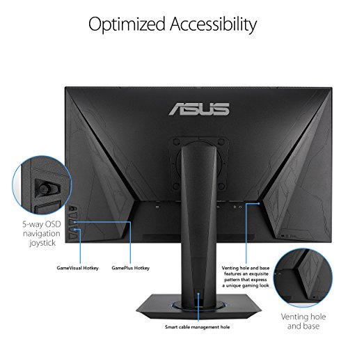 ASUS VG275Q Full HD 1080p 1ms Dual HDMI Eye Care Console Gaming Monitor with FreeSync/Adaptive Sync 27'' by Asus (Image #2)