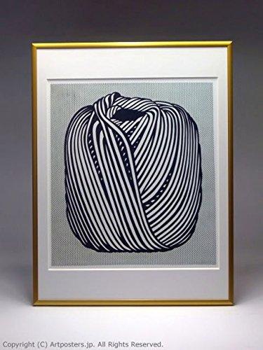 ロイ リキテンシュタイン 額付ポスターポップアート 額装品 ゴールド B005LN2XBK ゴールド ゴールド