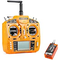 New FsFly T-six 2.4GHz 6CH DSM2 Compatible Transmitter With Redcon CM703 DSM2 Receiver By KTOY