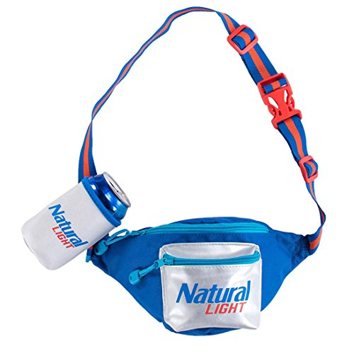 Natty Light - Natural Light Fanny Pack With Beer Holster
