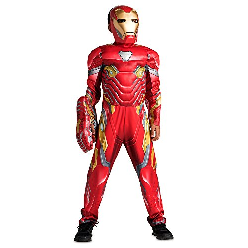 Marvel Iron Man Costume for Kids Avengers: Infinity War Size 11/12 Multi428447007145