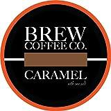 vue iced coffee - Brew Coffee Co - Keurig K-Cups for Single Serving Coffee Cups - Caramel Sea Salt