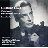 ギヨーム・ルクー : ヴァイオリン・ソナタ&ピアノ四重奏曲 (Guillaume Lekeu : Violin Sonata, Piano Quartet (Unfinished) | Premiere Recordings / Henri Koch, Charles van Lancker, Jean Rogister, Lido Rogister)