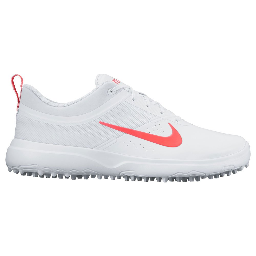 Nike Golf Ladies Akamai Shoes B01N1IDG0Z 9.5 B(M) US|White/Solar Red