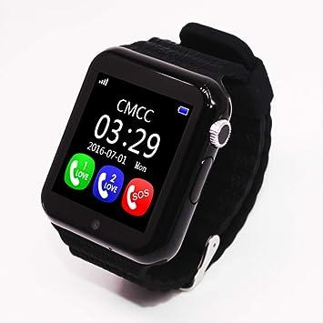 SZSM Smartch Smart Watch Relojes para niños con Tarjeta SIM GPS ...