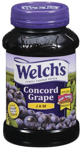 Welch's Grape Jam, 32-Ounce Jars (Pack of 6) by Welch's