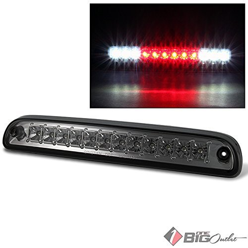 1999-2015 F-Series Super Duty Smoked LED 3rd Brake Light w/ LED Cargo, Reverse 2000 2001 2002 2003 2004 2005 2006 - 3rd Brake Smoked Light