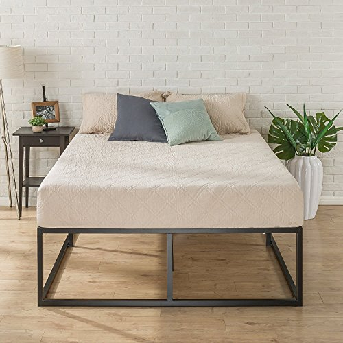 (Zinus Joesph Modern Studio 18 Inch Platforma Bed Frame / Mattress Foundation / Boxspring Optional / Wood slat support, Twin)