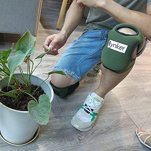 lynker Gardening Knee Pads Garden Knee Protectors Anti Slip Protective Cushion Soft Ultra Comfort Garden Kneepad for Kneeling Sponge Protective Gardening Kneeler Pad for Yard Work