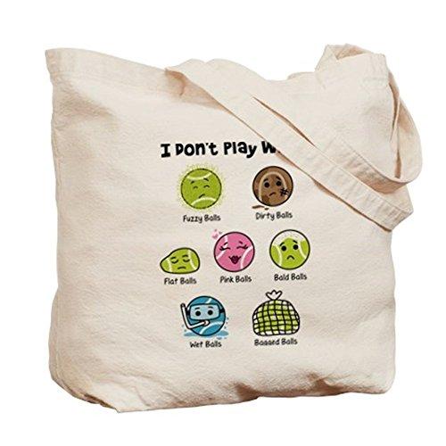 CafePress–I Dont giocare con... Tote Bag–Borsa di tela naturale, panno borsa per la spesa