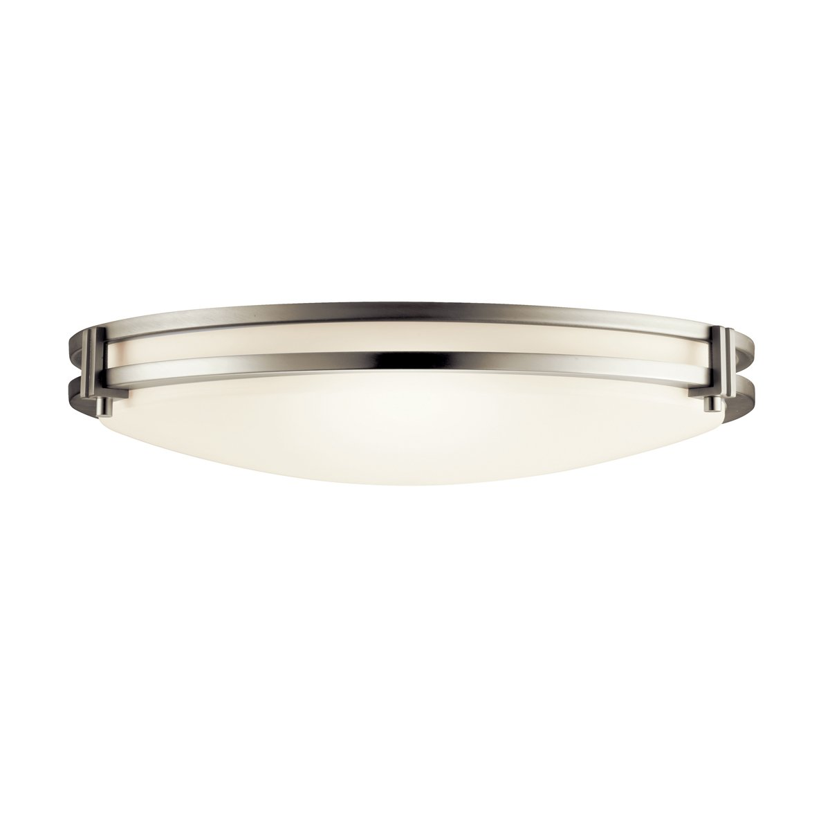 Kichler 10827ni two light flush mount semi flush mount ceiling kichler 10827ni two light flush mount semi flush mount ceiling light fixtures amazon arubaitofo Image collections
