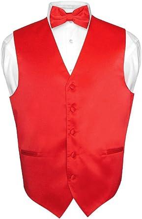BOYS Dress Vest /& BOW Tie Solid BLACK Color BowTie Set