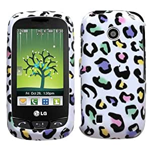 Bloutina LG VN270 Cosmos Touch Graphic Case - Colorful Leopard