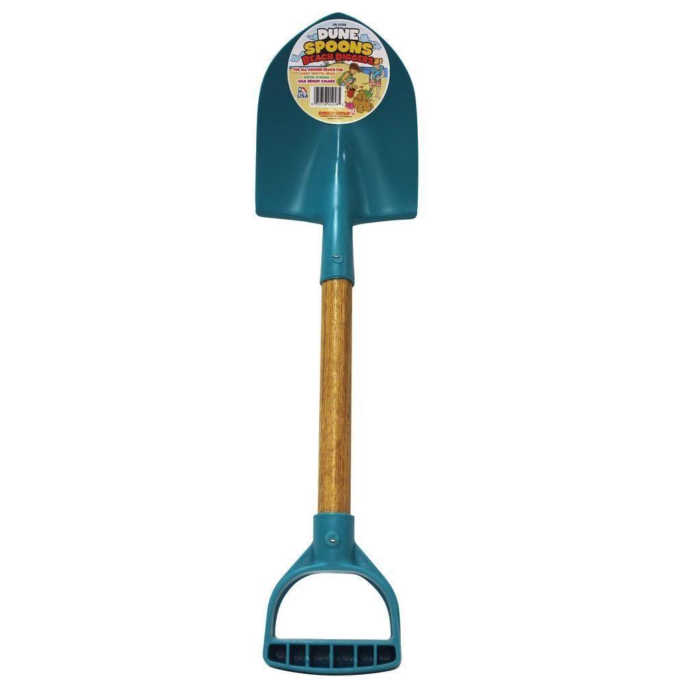 Kid's Shovel Little Diggers Series Dune Spoon with Large D-Grip Handle, Great for Beach Sand