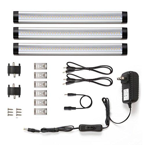 LE Under Cabinet Lighting, 3 Panel Kit, Total o...