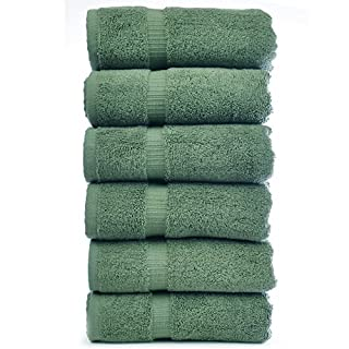 Chakir Turkish Linens Turkish Cotton Luxury Hotel & Spa Bath Towel, Hand Towel - Set of 6, Moss (B00SP0BQEG) | Amazon price tracker / tracking, Amazon price history charts, Amazon price watches, Amazon price drop alerts