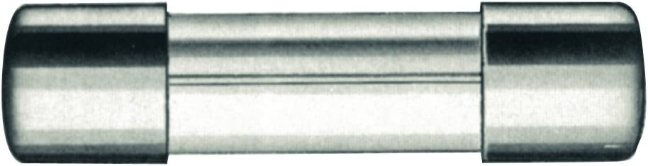 Fixapart ZKS 2A Est/ándar Reajustable 2A mecha de seguridad 20 mm, 5 mm Fusible de seguridad