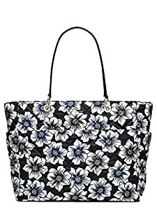 Kate Spade Emerson Place Nyron Pauline Baby Bag, Black/Floral by Kate Spade New York