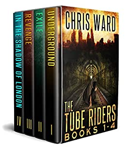 The Tube Riders Complete Series Volumes 1-4 by [Ward, Chris]