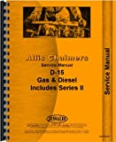 Allis Chalmers D15 Tractor Service Manual