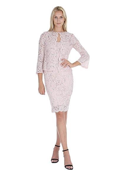 Amazon.com: ONYX Nite - Vestido y chaqueta para mujer de ...
