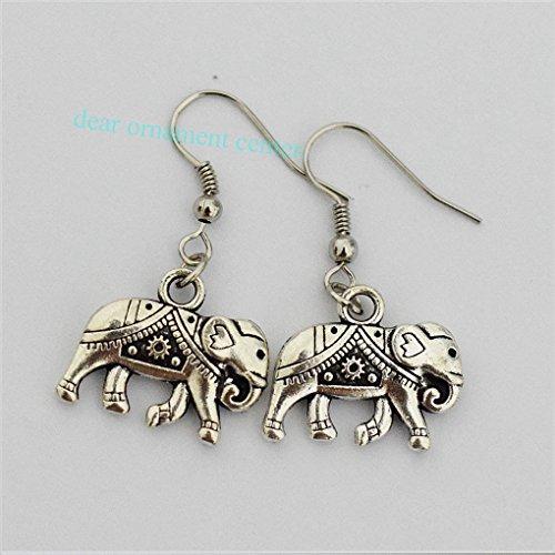 Elephant Earrings, Silver Earrings Bohemian, Tibetan Jewellery, Gypsy Chick, Boho Girl