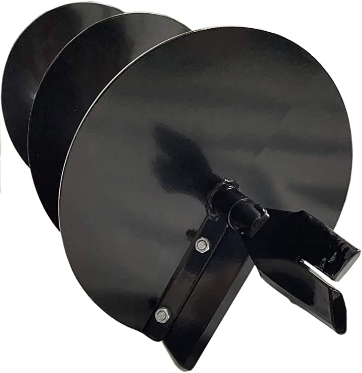 GardenTrax 2-Inch Diameter Earth Auger 10-Inch Diameter Black