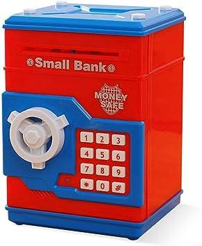 Hucha Caja de Dinero Segura para niños Moneda Digital Ahorro de ...