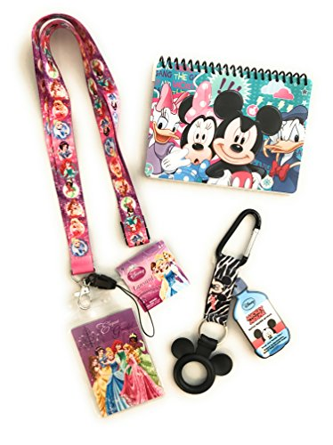 Disney Trip Princess Bundle- Autograph Book, Lanyard and Bottle Holder Disney Cruise Trip (Disney World Halloween Tickets)